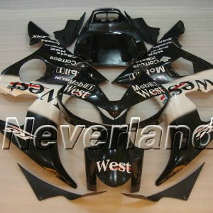 YAMAHA YZF-R6 2004-2005 ABS Fairing - West(Black/White) http://www.neverland-motor.com/yamaha-yzf-r6-2004-2005-abs-fairing-yzfr1-04-05-west-black-whit